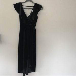 Carly Jean Los Angeles Easton Velvet dress